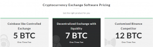 Cryptocurrency Exchange Software Price