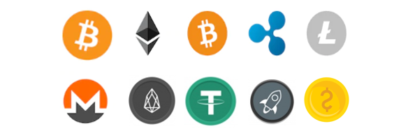 cryptocurrencies supported by our exchange platform