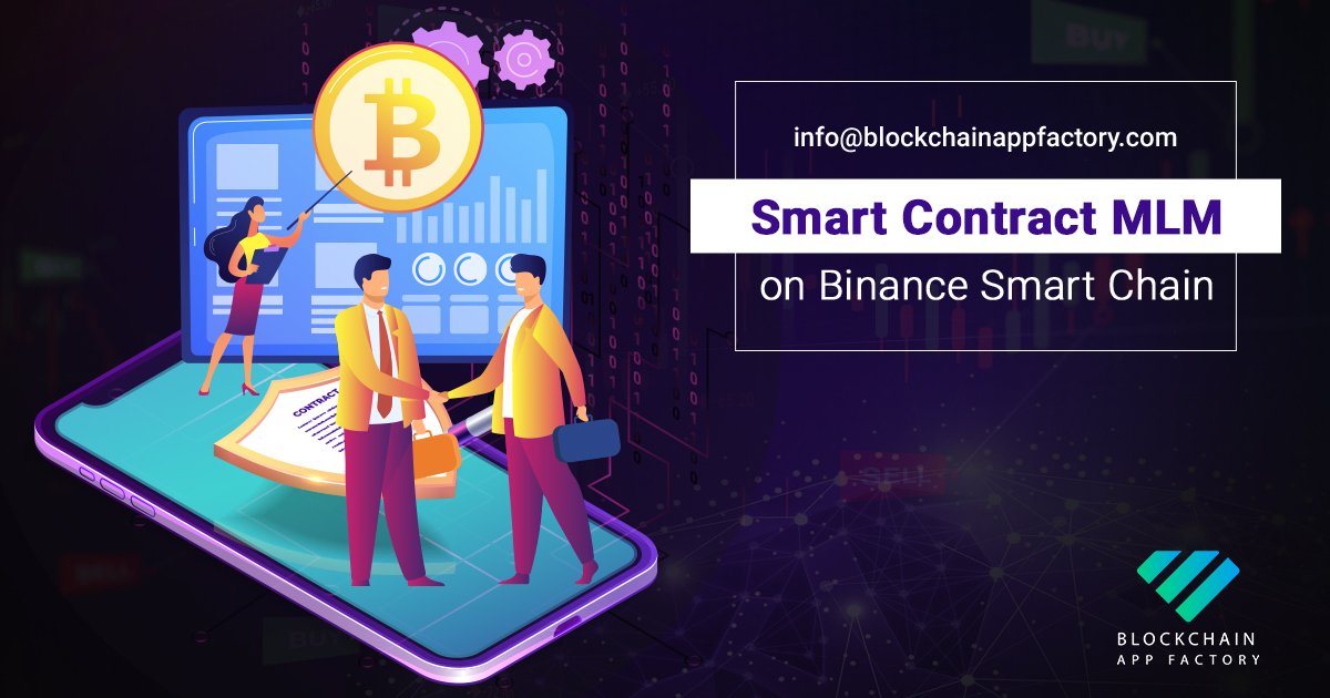 Smart contract Mlm on Binance Smart Chain