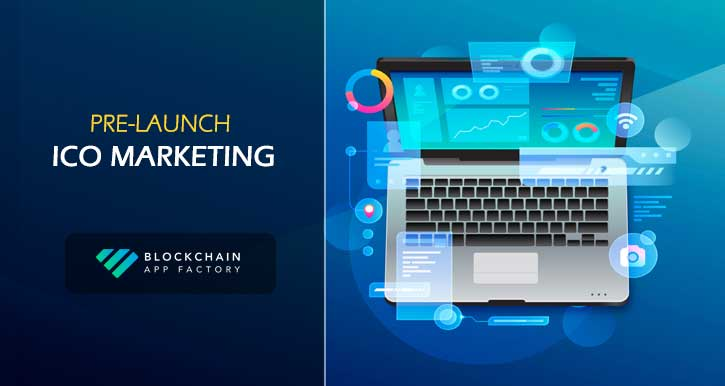 Pre-launch ICO marketing service