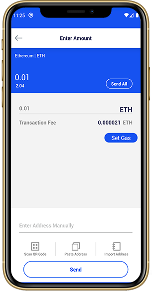 Crypto Wallet Transaction